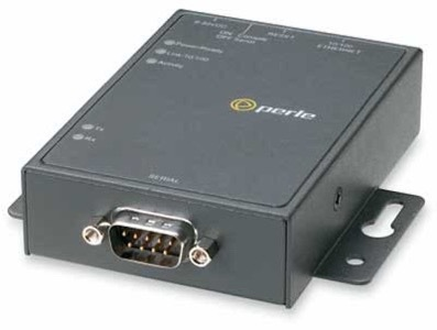 RS232 to Ethernet converter by Perle